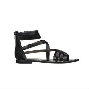 435a4ba739b4 Sam Edelman Shoes - NWT Sam Edelman Ganesa Black Leather Sandal 8.5